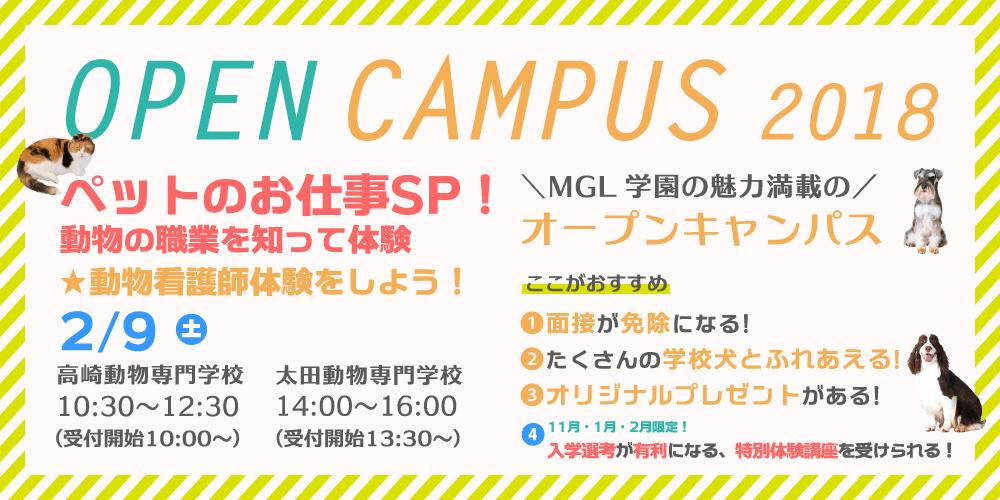 2月オープンキャンパス